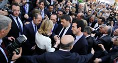 Prime minister of Italy, MATTEO RENZI visits ALLEGRINI