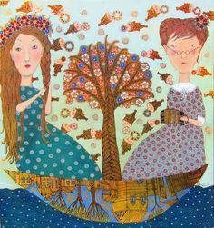 "Anna Silivonchik ""Flood time"" 2010.  «Наводнение время» 2010."