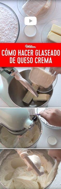 Aprende a hacer un delicioso glaseado, que te servirá para todos tus pasteles y postres que hagas. Solo sigue las instrucciones y vas a ver lo bien que te va a quedar.