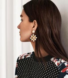 Tory Burch selma DROP EARRING