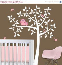 Girl Baby Owl Nursery Theme