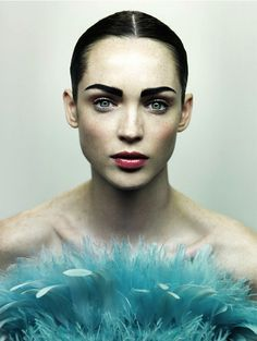 Carla Crombie by JM Ferrater for Silver Magazine #1 Summer 2011. #fashion #beauty #makeup