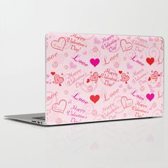 Happy Valentine's Day Laptop & iPad Skin by refreshdesign