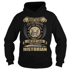 Historian - Job Title Special T Shirts, Hoodies Sweatshirts. Check price ==► http://store.customtshirts.xyz/go.php?u=https://www.sunfrog.com/Jobs/Historian--Job-Title-Special-Black-Hoodie.html?41382