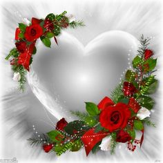 Hearts And roses equal Love I Love Heart, My Love, I Love You Images, Beautiful Rose Flowers, Beautiful Hearts, Hearts And Roses, Heart Images, Heart Pics, Love Valentines