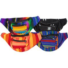 Fanny packs, of all kinds.