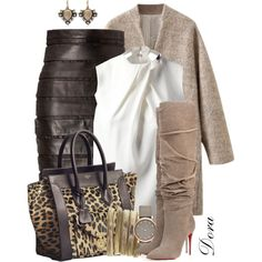Senza titolo #4752 by doradabrowska on Polyvore featuring мода, Joseph, Balmain, Christian Louboutin, CÉLINE, Marc by Marc Jacobs and Nak Armstrong