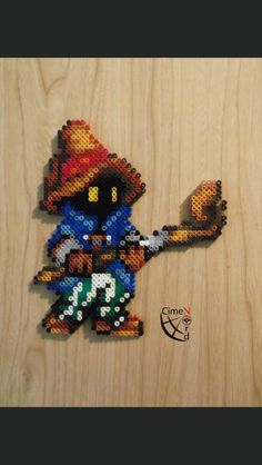 Bibi from Final Fantasy Perler & Hama Beads by Thewiredslain of Deviantart