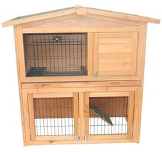 "40"" A-frame Chicken Coop And Rabbit Cage (2-3 Hens)"