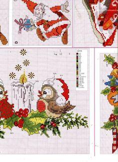 Cross Stitch Christmas Stockings, Xmas Cross Stitch, Cross Stitch Needles, Beaded Cross Stitch, Cross Stitch Charts, Cross Stitch Designs, Cross Stitching, Cross Stitch Embroidery, Cross Stitch Patterns