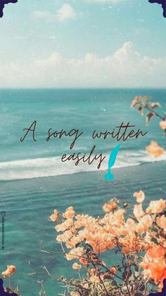Ocean Deep, Wallpaper Quotes, Kpop, Songs, Photo And Video, Movie Posters, Instagram, Lyrics, Bts