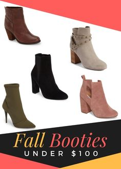 Best Fall Booties To