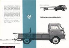 VW - 1962 - VW Pritschenwagen mit Nachläufern - 152 614 - [6420]-1