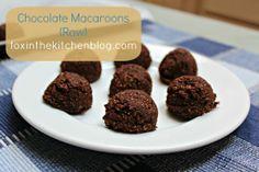 Chocolate Macaroons (Raw) :: Easy Like A Sunday Morning