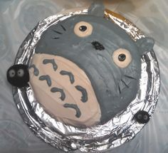 Totoro Cake by Imaplatypus.deviantart.com on @DeviantArt
