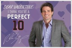 Dear Valentine, I think you're a perfect 10 ~Sharpie