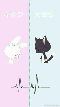 Love Never Fails Anime Cupples, Anime Couples Manga, Cute Anime Couples, Anime Chibi, Kawaii Anime, Cute Chibi Couple, Cute Couple Cartoon, Cute Couple Art, Anime Love Couple