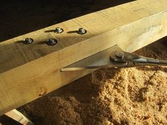 Oak and stainless steel trusses by Castle Ring Oak Frame for Donald McIntyre