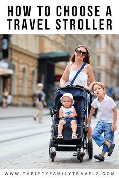 Best Strollers for your baby, your twin or your triplets. Awesome prams that you do not usually see. Best Travel Stroller, Toddler Travel, Travel With Kids, Family Travel, Family Trips, Family Vacations, Traveling With Baby, Traveling By Yourself