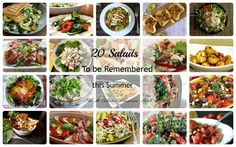 20 #Salads to remember this #Summer