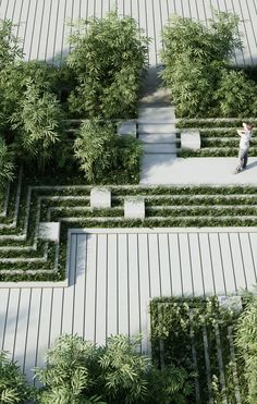 Image 5 of 26 from gallery of A New Landscape by Penda Is Inspired by Indian Stepwells and Water Mazes. Courtesy of penda