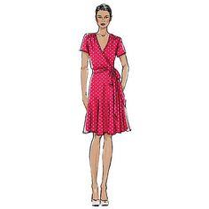 Buy Vogue Women's Dresses Sewing Pattern, 8896b5 Online at johnlewis.com