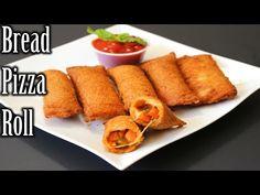 Bread Pizza Roll Recipe | Quick and Easy Bread Roll Recipe | How to Make Bread Pizza Roll - YouTube