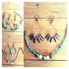 Le turquoise... Parure du jour... Bracelet et Bo, Et vous, quel est votre ensemble préféré ? 😉 avec perles Quartz rose, avec des touches de corail ou avec des étoiles ?  #stars #audreylcreation #turquoise #corail #perles #bijoux #handmade #bracelet #earrings #creation #artisan #creatrice #colorsoftheday #colors #blue #summer #waves #bijouxcreateur #joli #cadeau #photobijoux #cadeauoriginal #createurfrance #bijouxpaca #creatricelourmarin ✖️✖️✖️eshop: audreylcreation.tictail.com ✖️✖️✖️