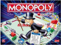 Board Games Monopoly Glass