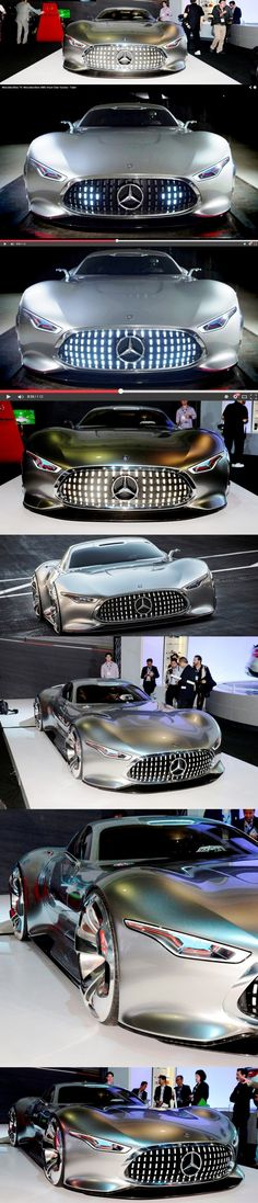 (The Mercedes-Benz Vision Gran Turismo Supercar. Maserati, Bugatti, Lamborghini, Mercedes Benz, Sexy Cars, Hot Cars, My Dream Car, Dream Cars, Rolls Royce