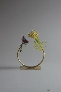 Anna Varendorff Brass Vase 19 Moving Towards a Circle