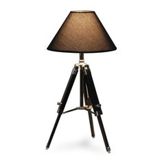 Love this tripod table lamp