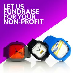 Non-profits: We want you! When your organization partners with Modify Watches, 50% of your sales will go to your organization. There are no costs, only meaningful funds! Contact collabs@modifywatches.com if your non-profit is interested.