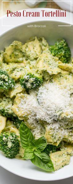 Smoky Minestrone With Tortellini And Parsley Or Basil Pesto Recipe ...