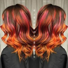 Here you go #sunset inspired #hair for my lovely sister @cindy_p01…