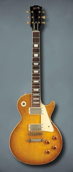 Kirk Hammett   '59 Gibson Les Paul Standard.   Legendary Les Pauls ...