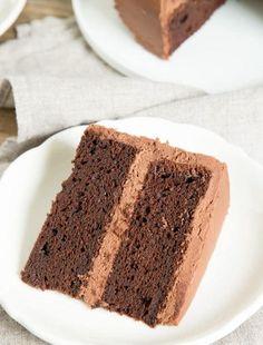 One Bowl Gluten Free Chocolate Cake Recipe