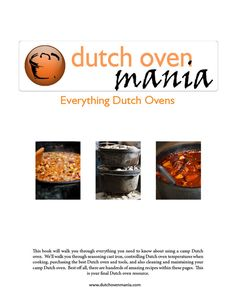 Dutch Oven Recipes - great source for some dutch oven recipes