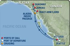 Royal Caribbean 7 Night Alaskan Cruise - I would love to do this with my man, who lived in Alaska while lived in Hawaii!
