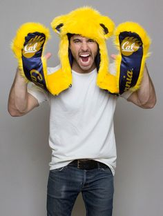 Spirit hood :: TEAMS :: MEN'S :: Cal Berkeley...def on my list of things to buy this fall!!!  GO BEARS!!!