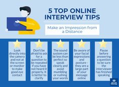 Be well prepared for online interview questions. How to enjoy a stress-free interview and make a great impression online. Winning online job interview tips. Interview Answers, Online Interview, Interview Skills, Job Interview Questions, Job Interview Tips, Job Interviews, Win Online, Online Jobs, Continuing Education