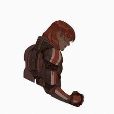 Mass Effect Kaidan, Mass Effect Art, Character Design References, Character Art, Mass Effect Universe, Icon Gif, Commander Shepard, Video Game Art, Video Games