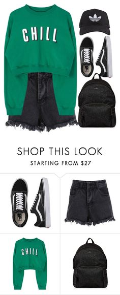"""Sin título #204"" by noe-poterala ❤ liked on Polyvore featuring Vans, Hogan and adidas"