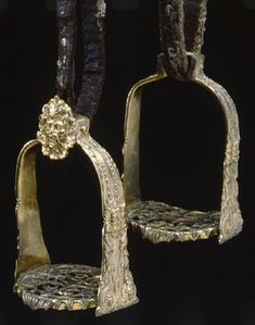 SHORT DESCRIPTION Stirrup. NAME Owner :Louis XIV of France DATING about 1670