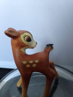 Goebel Hummel Figurine Walt Disney Bambi With Fly On Tail West Germany Vintage | Collectibles, Decorative Collectibles, Decorative Collectible Brands | eBay!
