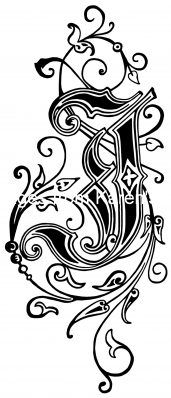 Alphabet Lettering Styles J