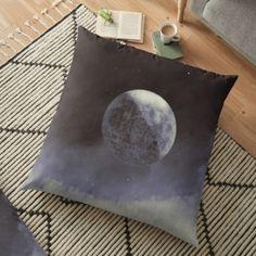 LUNAR Floor Pillow Case Personalized Pillow Cases, Custom Pillow Cases, Custom Pillows, Floor Pillows, Throw Pillows, Pillow Covers, Flooring, Toss Pillows, Pillow Case Dresses