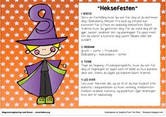 heksefesten School Subjects, Second Grade, Preschool, Teacher, Education, Halloween, Barn, Ideas, First Class