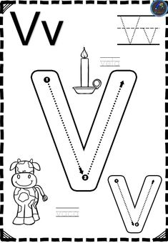 Shape Worksheets For Preschool, Printable Handwriting Worksheets, Pre K Worksheets, Phonics Worksheets, Jolly Phonics Activities, Preschool Learning Activities, Writing Without Tears, Nursery Book, English Lessons For Kids