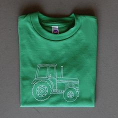 Image of Big Green Tractor Children's Tee